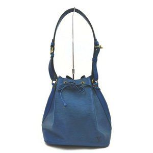 """Louis Vuitton Blue Epi Toledo Petite Noe Drawstri"
